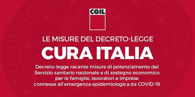 banner cura italia 19 marzo 2020