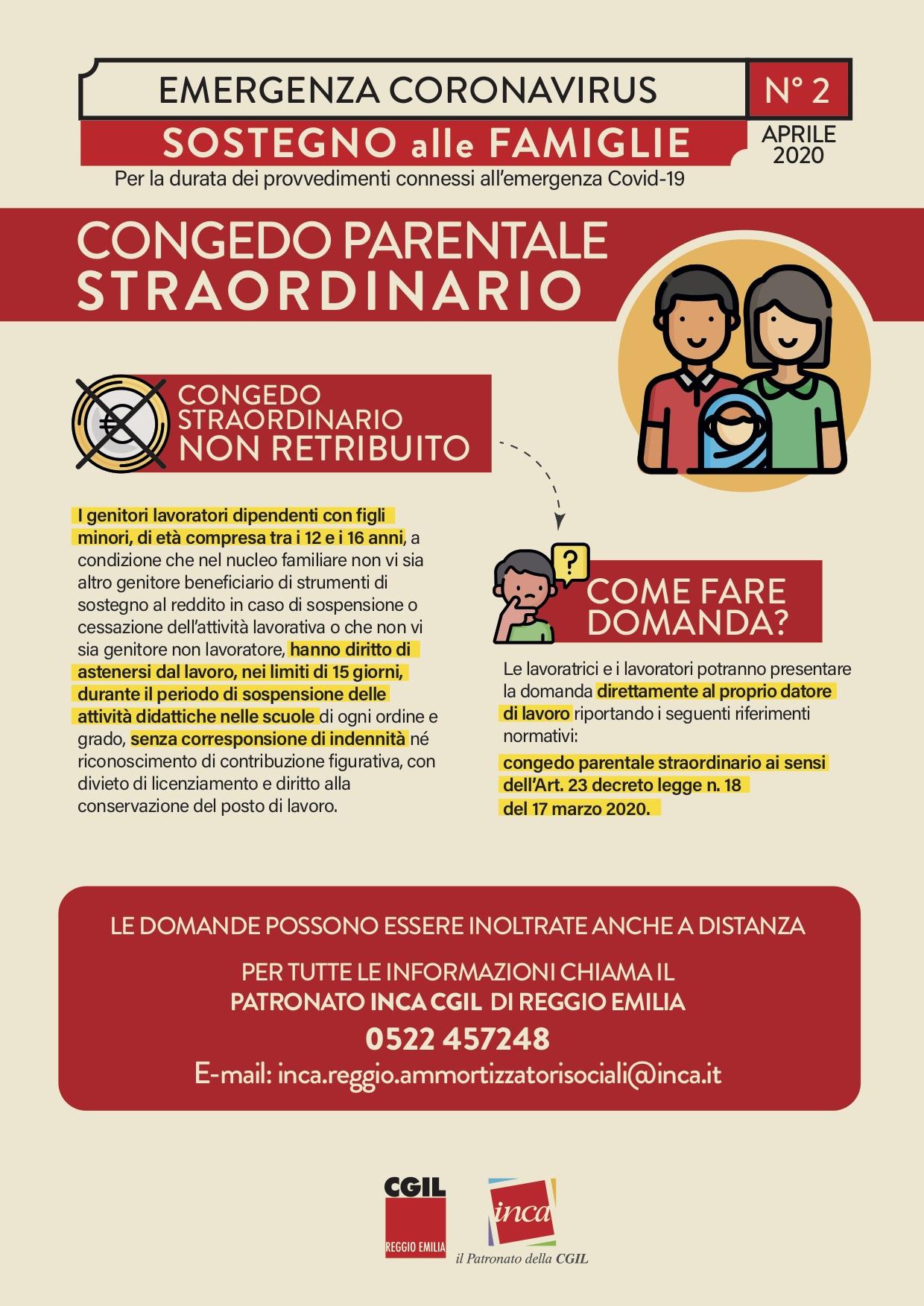COVID19: COME FUNZIONA IL CONGEDO PARENTALE STRAORDINARIO